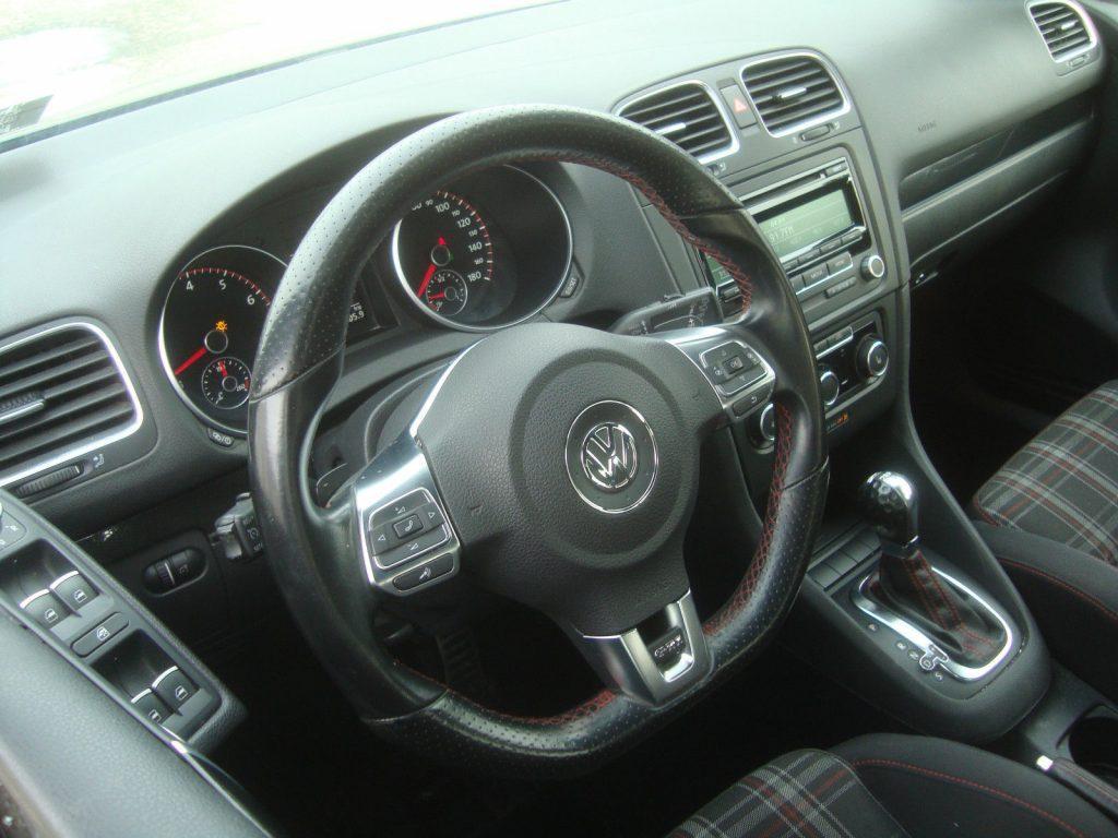 Left side damage 2014 Volkswagen Golf GTI Rebuildable Repairable