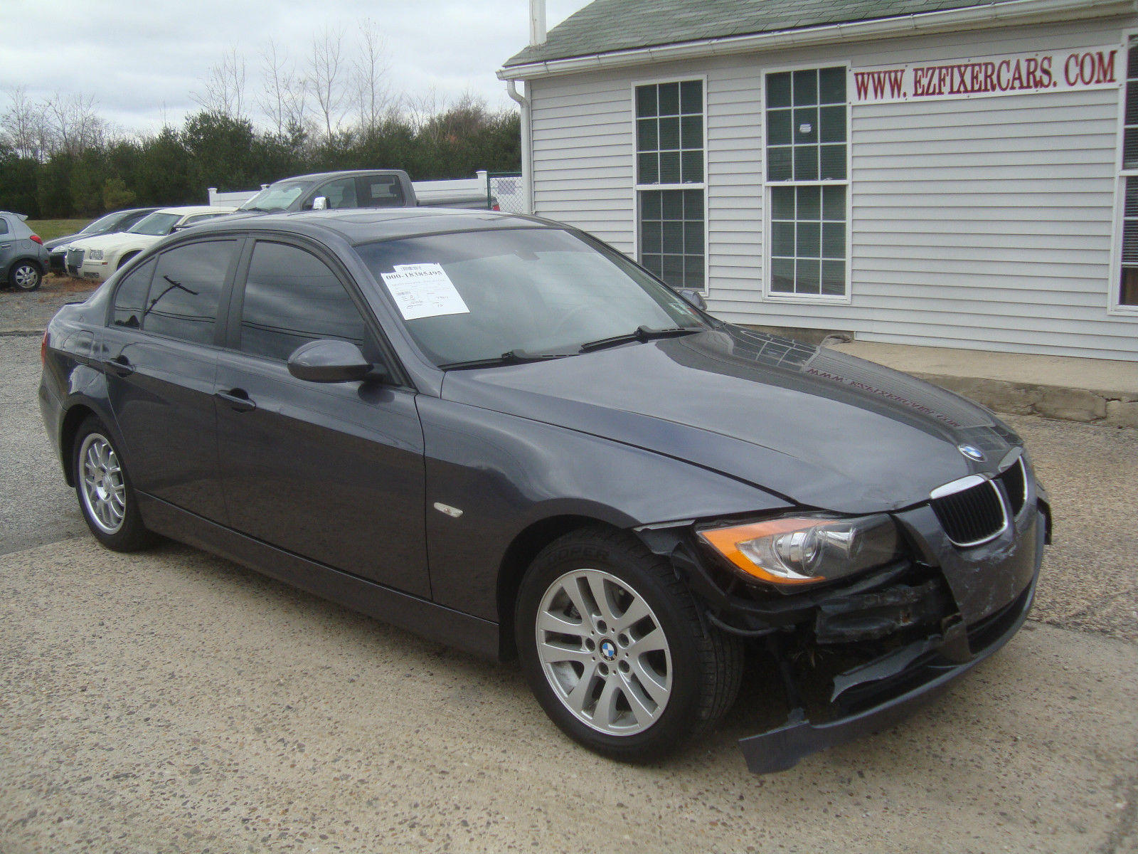 light damage 2007 bmw 3 series 328 rebuildable repairable. Black Bedroom Furniture Sets. Home Design Ideas