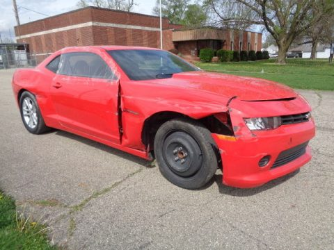 Lightly damaged 2014 Chevrolet Camaro LS V6 rebuildable repairable for sale