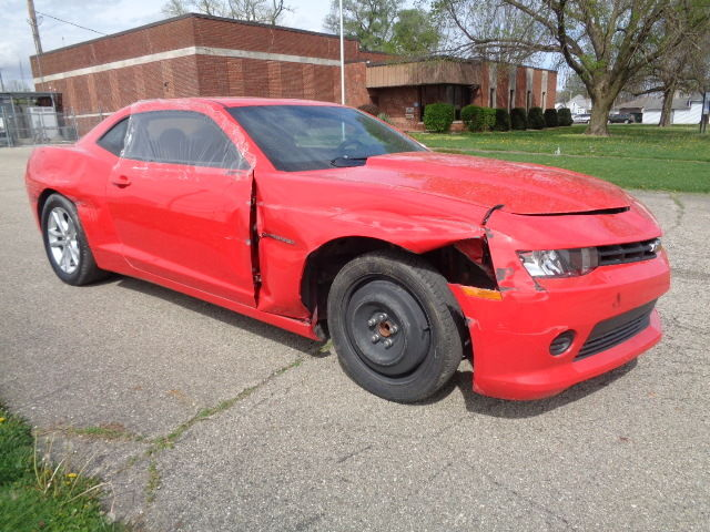 Lightly damaged 2014 Chevrolet Camaro LS V6 rebuildable repairable