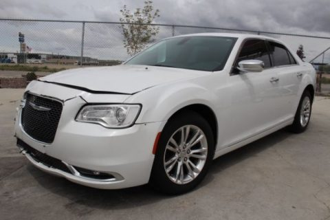 Lightly damaged 2015 Chrysler 300 Series 300C repairable for sale