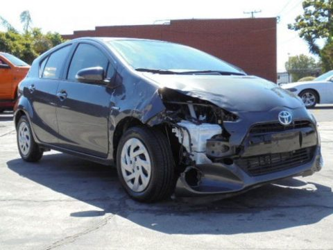 Lightly damaged 2016 Toyota Prius c rebuildable repairable for sale