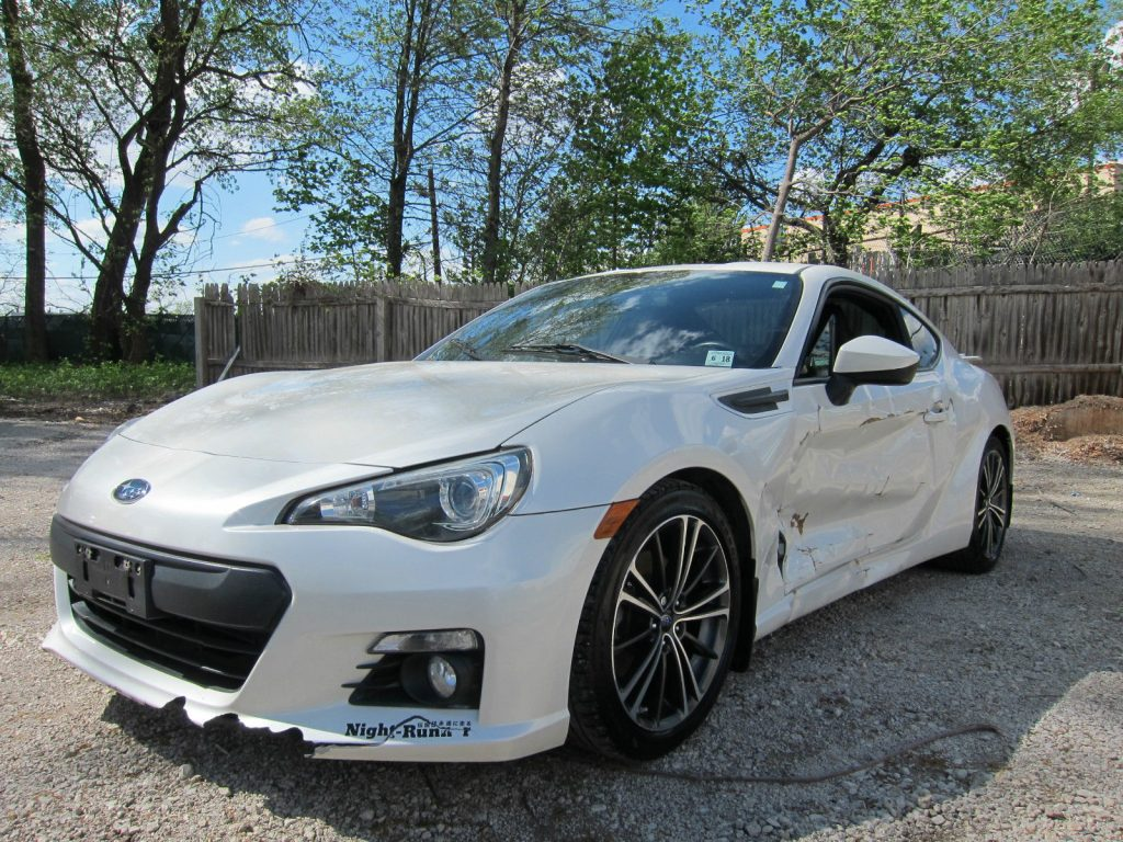 Boxer engine 2013 Subaru BRZ repairable