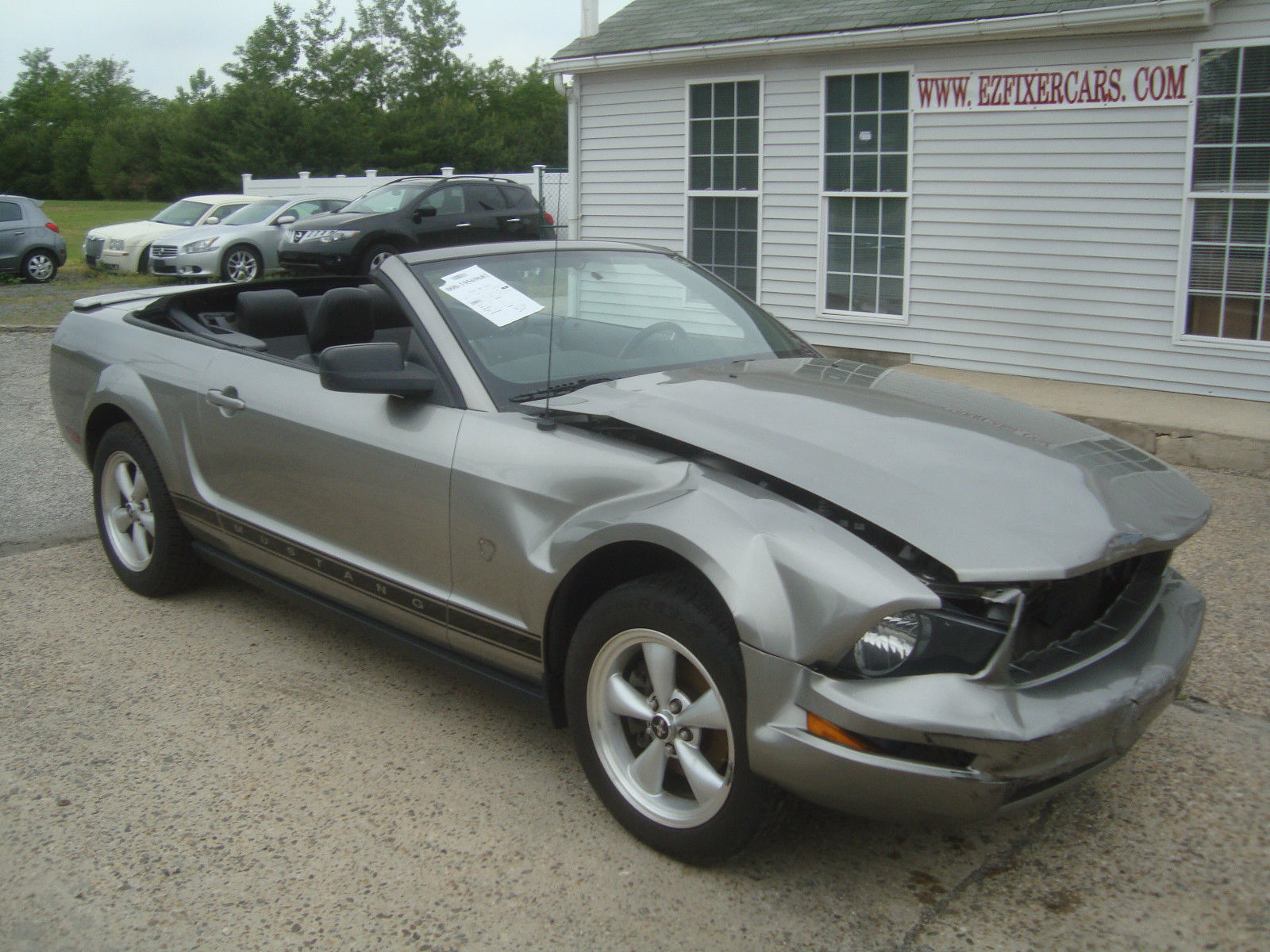 easy repair 2009 ford mustang v6 convertible rebuildable repairable for sale. Black Bedroom Furniture Sets. Home Design Ideas