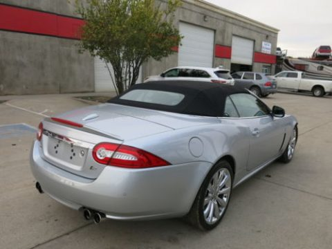 Fender bender 2010 Jaguar XKR Convertible rebuildable repairable for sale