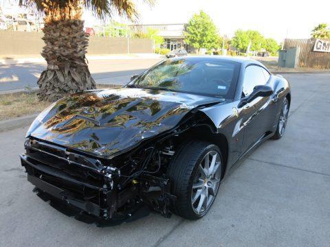 Fully loaded 2013 Ferrari California repairable for sale