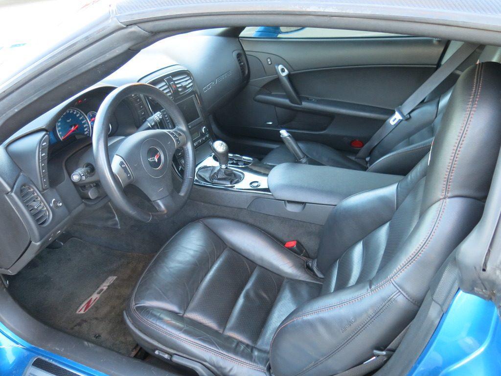 Left fender damage 2008 Chevrolet Corvette Z06 repairable