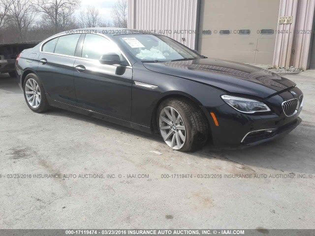 Light front hit 2016 BMW 6 Series gran coupe repairable