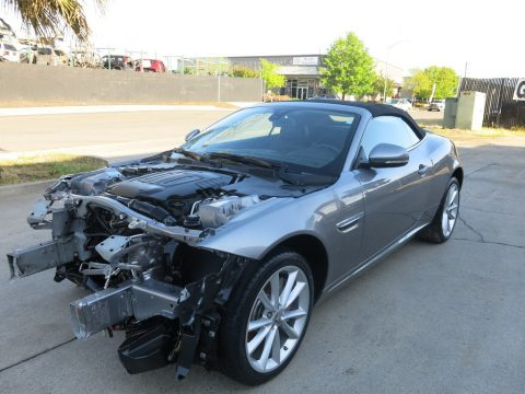 Loaded luxury 2013 Jaguar XK Base Convertible repairable for sale