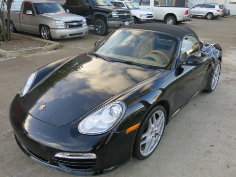 Loaded with options 2010 Porsche Boxster Boxster S repairable for sale
