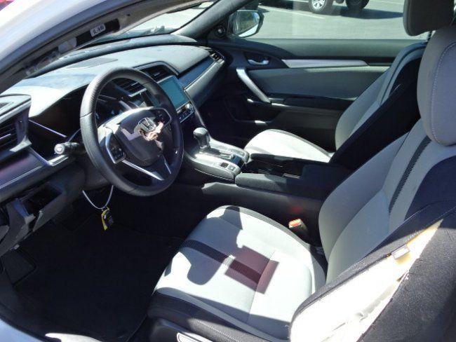 Low miles 2017 Honda Civic EX T repairable