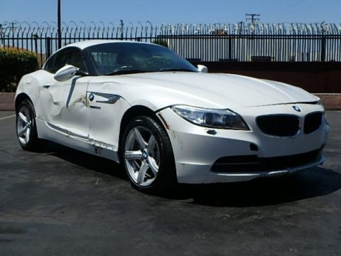 2012 bmw z4 sdrive28i salvage wrecked repairable for sale. Black Bedroom Furniture Sets. Home Design Ideas