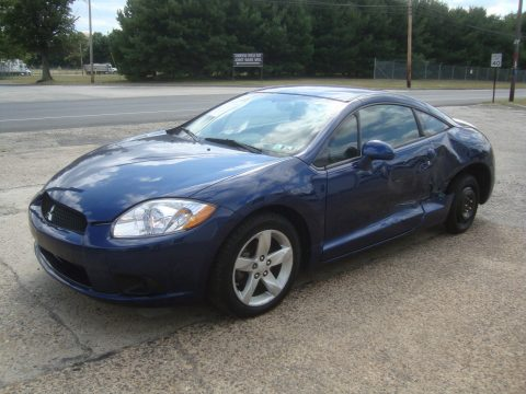 Side damage 2009 Mitsubishi Eclipse GS Automatic V4 Rebuildable Repairable for sale