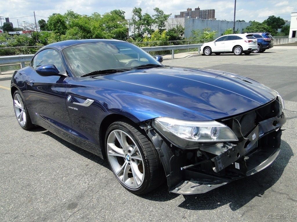 2015 Bmw Z4 Sdrive35i Repairable For Sale