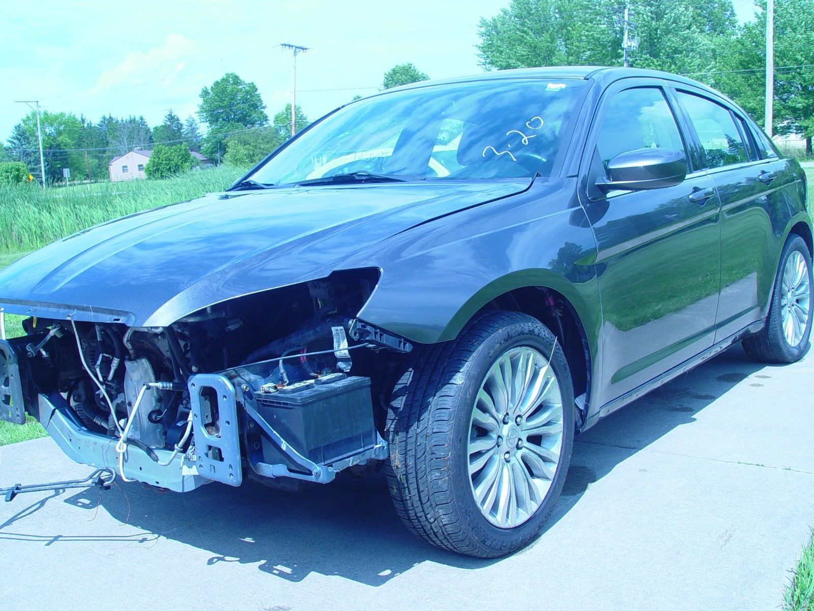 Easy fix 2014 Chrysler 200 Series repairable for sale