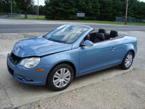 Good condition 2008 Volkswagen Eos Turbo Rebuildable Repairable for sale