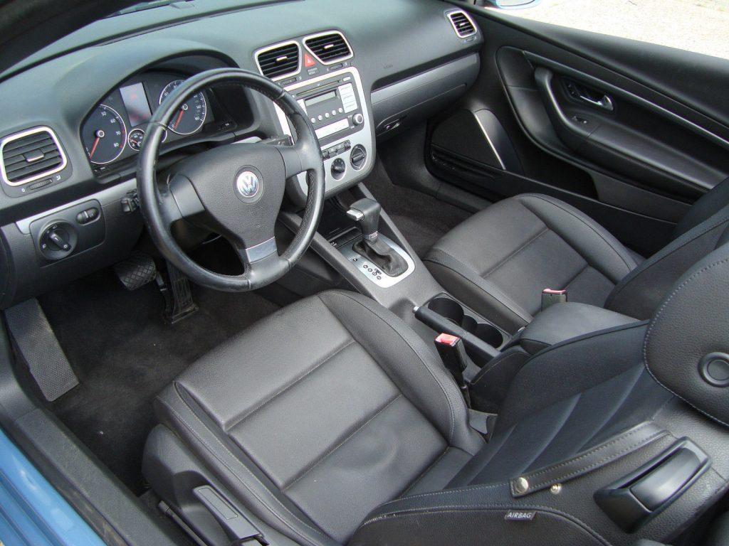 Good condition 2008 Volkswagen Eos Turbo Rebuildable Repairable