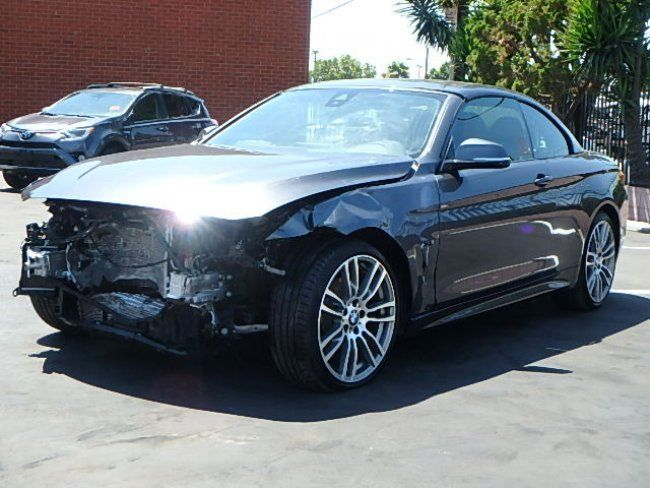 loaded 2016 bmw 4 series 428i convertible repairable for sale. Black Bedroom Furniture Sets. Home Design Ideas