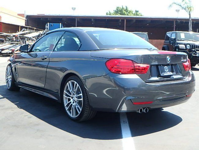 Loaded 2016 BMW 4 Series 428i Convertible repairable