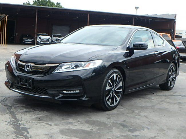 loaded 2017 honda accord ex l coupe repairable for sale. Black Bedroom Furniture Sets. Home Design Ideas