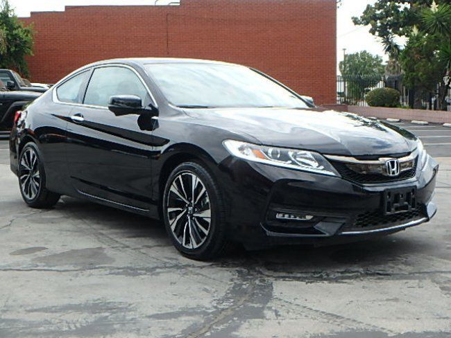 Loaded 2017 Honda Accord EX L Coupe repairable