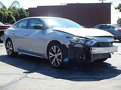 Loaded 2017 Nissan Maxima 3.5L repairable for sale