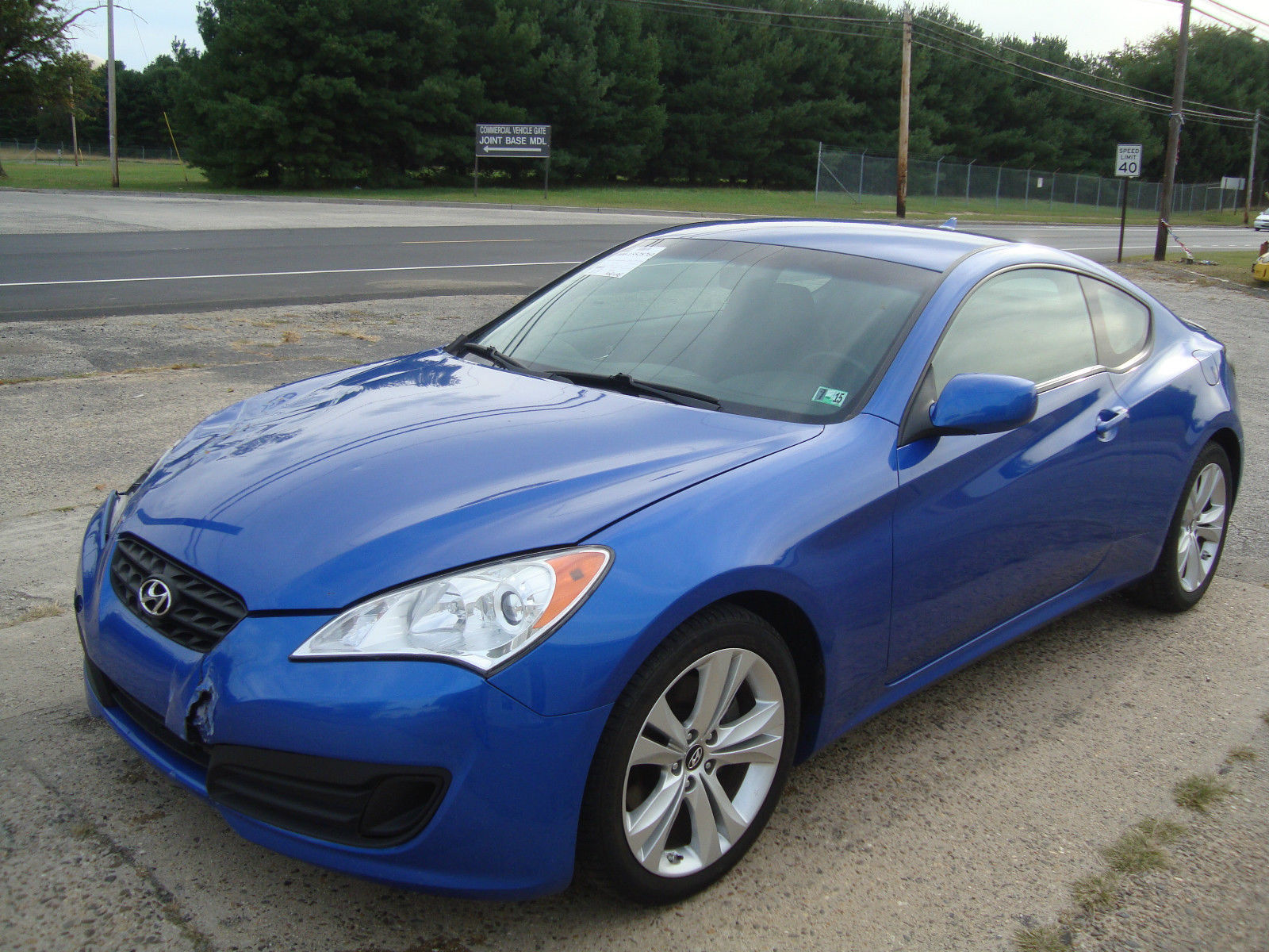 Minor Damage 2011 Hyundai Genesis 2 0t Coupe Rebuildable For Sale