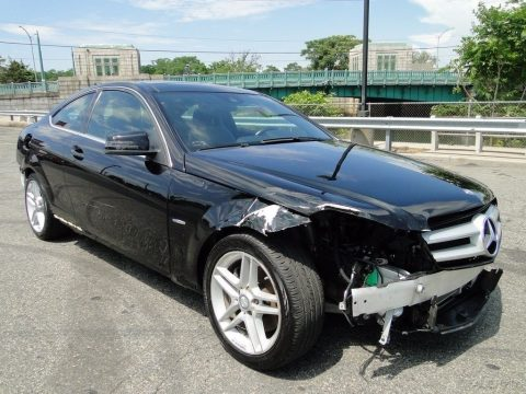 Needs bumpers 2012 Mercedes Benz C Class C 350 repairable for sale