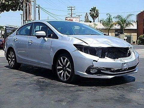 Perfect project 2014 Honda Civic EX L repairable for sale