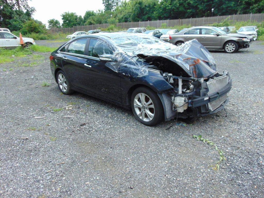 Serious Damage 2012 Hyundai Sonata Repairable For Sale