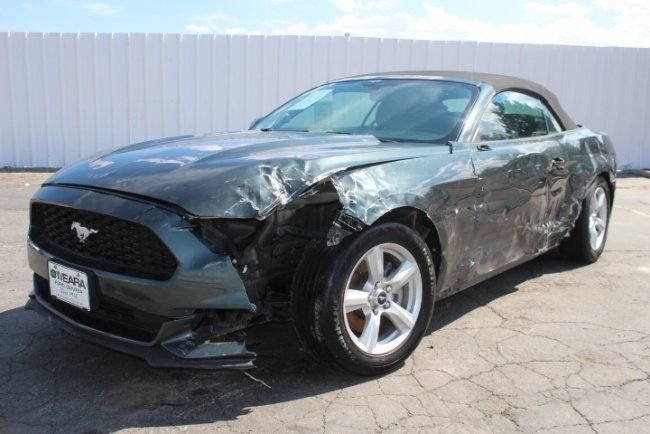 V6 engine 2016 Ford Mustang Convertible repairable