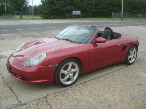 Well maintained 2003 Porsche Boxster S Rebuildable Repairable for sale