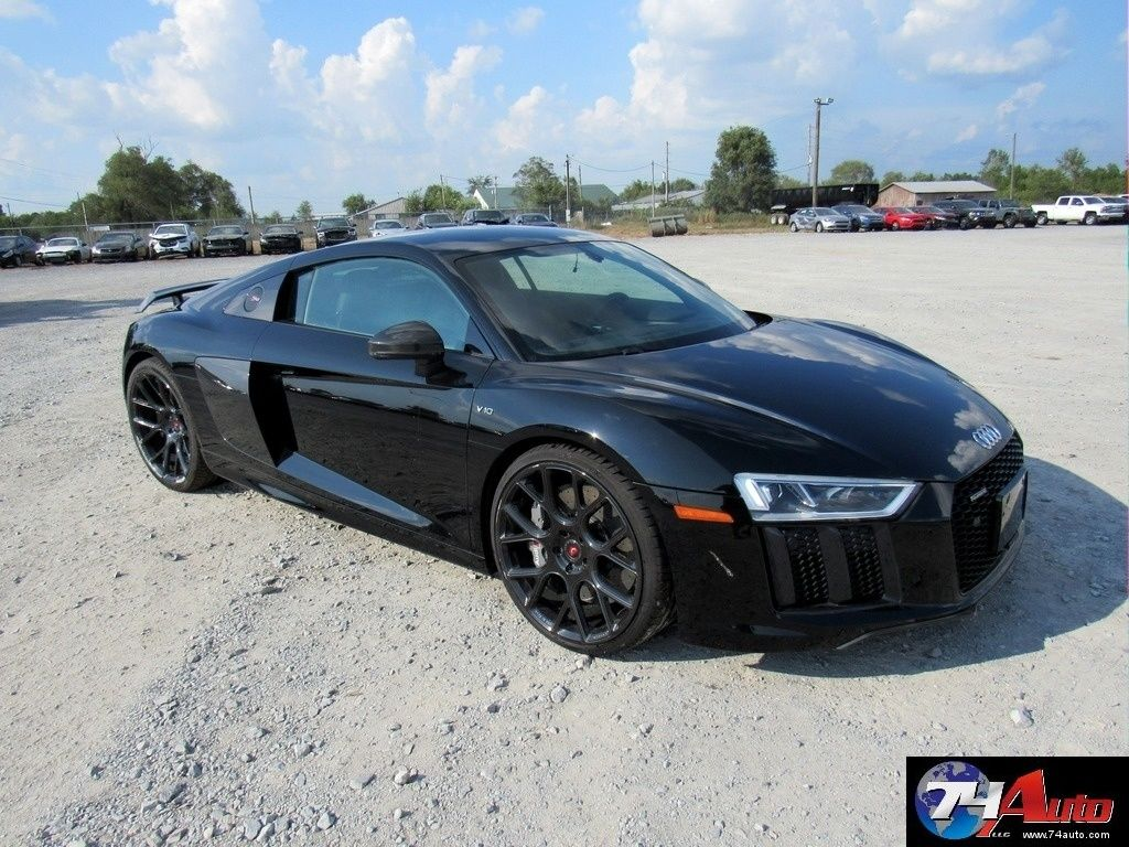 Easy Build 2017 Audi R8 5 2 V10 Plus Repairable For Sale