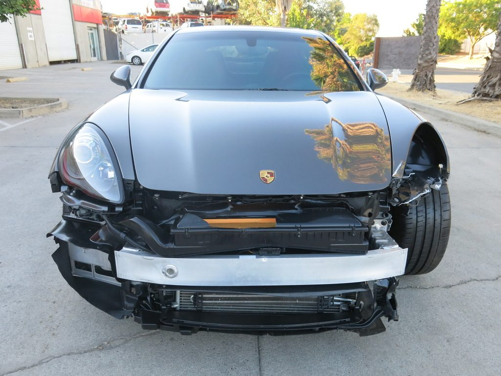 fully loaded 2013 Porsche Panamera GTS repairable