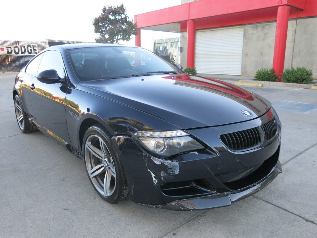light collision 2009 bmw m6 coupe repairable for sale. Black Bedroom Furniture Sets. Home Design Ideas