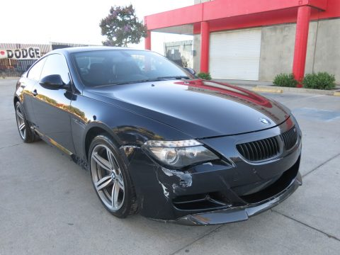 light collision 2009 BMW M6 Coupe repairable for sale