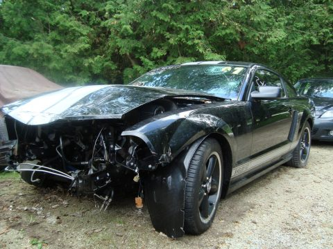 Loaded 2007 Ford Mustang Shelby GT repairable for sale