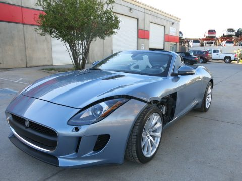 loaded 2014 Jaguar F Type repairable for sale
