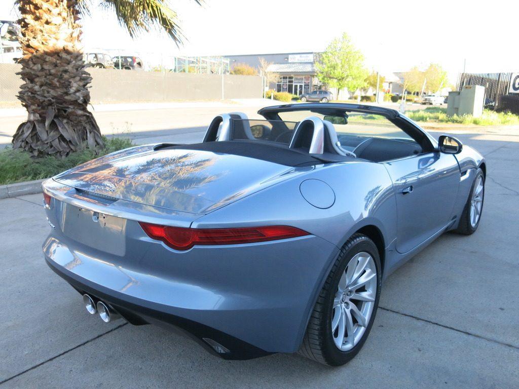 loaded 2014 Jaguar F Type repairable