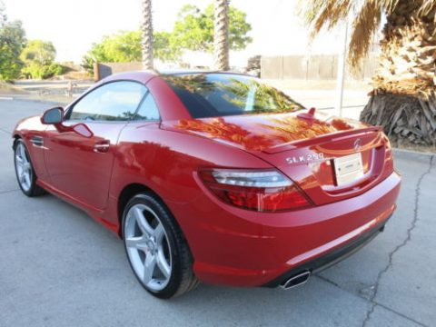 loaded 2014 Mercedes Benz C Class SLK 250 Convertible repairable for sale