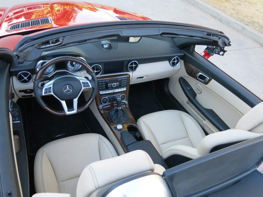 loaded 2014 Mercedes Benz C Class SLK 250 Convertible repairable