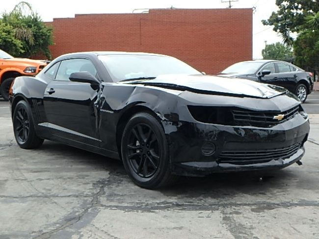 Loaded 2015 Chevrolet Camaro LS Coupe repairable