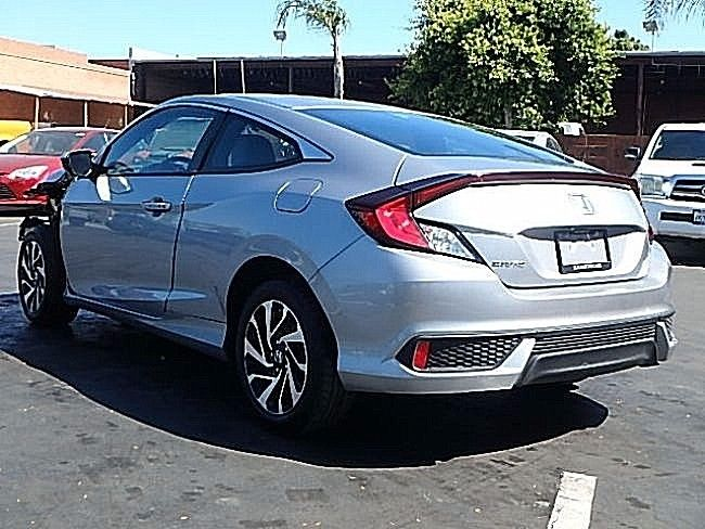 Loaded 2016 Honda Civic LX P Coupe repairable for sale