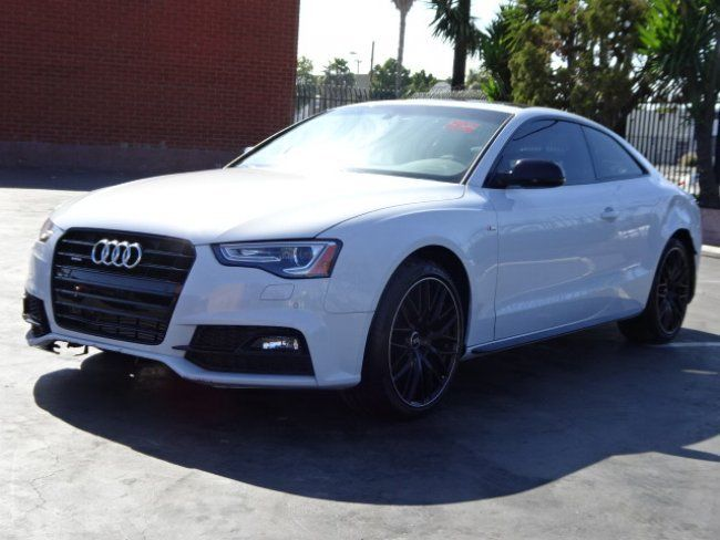 Loaded 2017 Audi A5 2 0t Premium Quattro Repairable