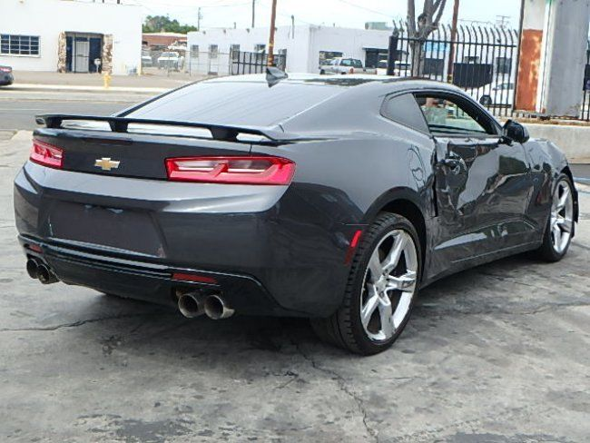 Low mileage 2016 Chevrolet Camaro SS Coupe repairable
