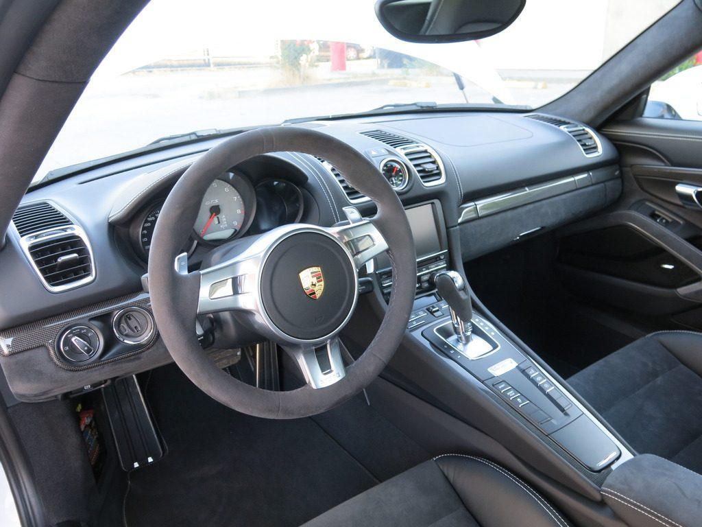 Low mileage 2016 Porsche Cayman GTS repairable