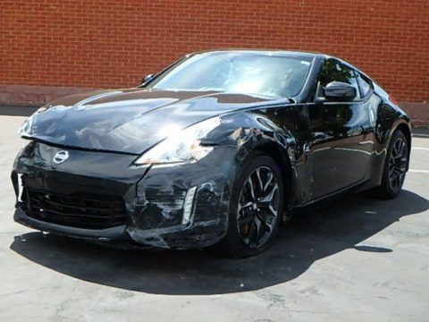 Low miles 2016 Nissan 370Z Coupe repairable for sale