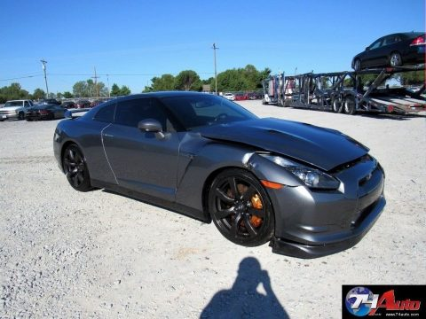 very clean 2010 Nissan GT R Premium Repairable for sale