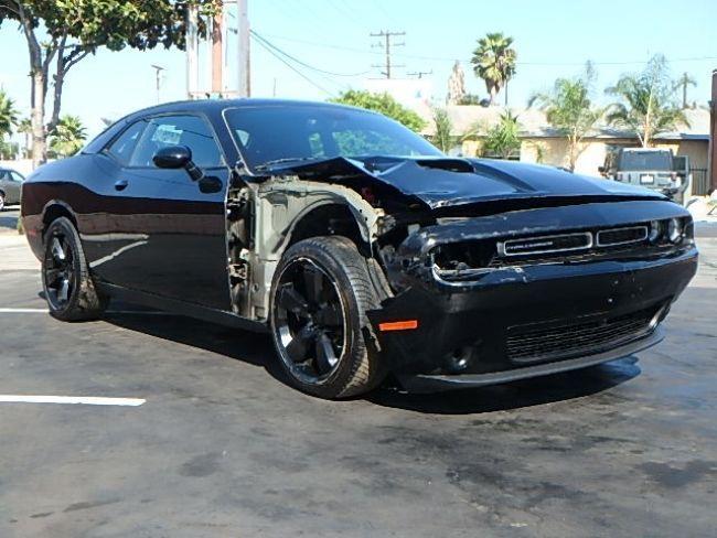classic muscle 2016 Dodge Challenger SXT repairable