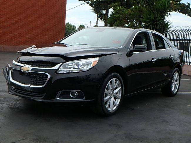 Wrecked Cars For Sale >> economical 2016 Chevrolet Malibu LTZ repairable for sale